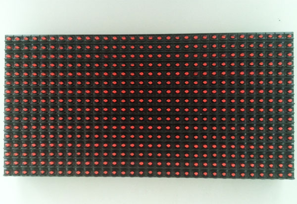 P10-Single-red-LED-module-front