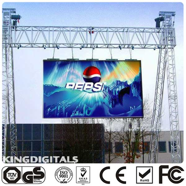 P10 Outdoor full color Rental LED scren