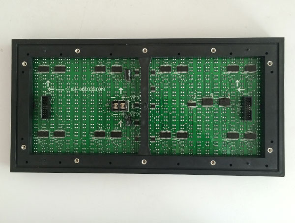 outdoor-p10-dual-color-LED-module-back