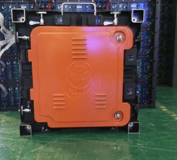 outdoor p8 led cabinet back face