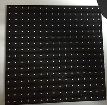P16 SMD led module 256x256 front face