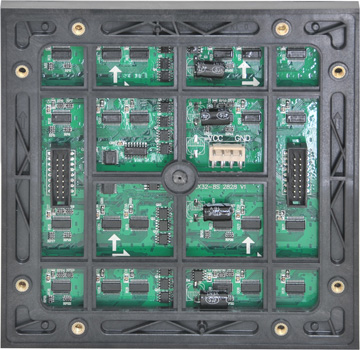 P5 led module back face